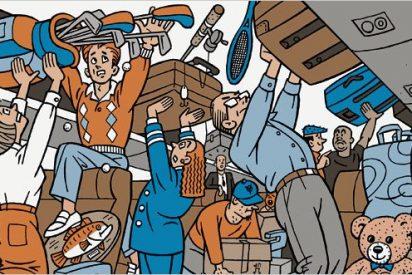 Qué no debes llevar en la maleta de cabina