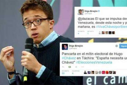 El candidato carmenista a la CAM se afana en borrar un pasado de amor al régimen de Maduro pero la jugada le sale regular
