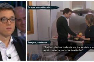 No se pierda el soberbio 'vídeo-zasca' como una casa de Errejón a Iglesias