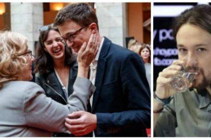 Pablo Iglesias tiembla ante un hundimiento en Madrid y se baja los pantalones con Íñigo Errejón
