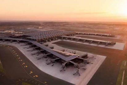 Este es el aeropuerto de Estambul, que se convertirá en el de más tránsito aéreo del mundo