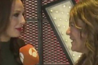 ¿Viste el corte de Eva González a esta reportera de Espejo Público en directo?