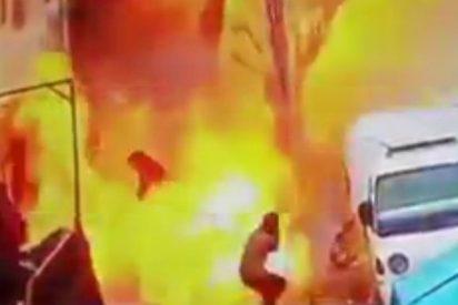 Así fue la brutal explosión de ISIS en Siria que mató a cuatro soldados de EEUU