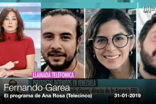 Fernando Garea, director de EFE, a oscuras con sus periodistas detenidos en Venezuela: