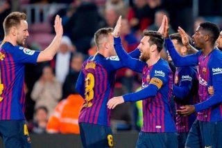 La plantilla del FC Barcelona es la mejor pagada de todo el deporte mundial.