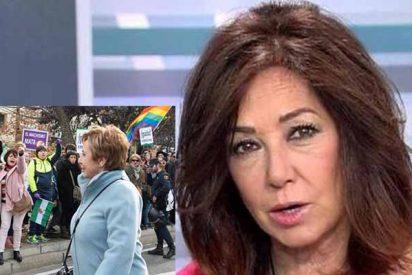 Ana Rosa rompe una lanza por Celia Villalobos y carga contra las feministas que la llamaron de todo
