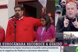 """Ferreras se pone el uniforme chavista en laSexta: """"¿Por qué hablamos tanto de Venezuela y no de Arabia Saudí? Hay mucha hipocresía"""""""