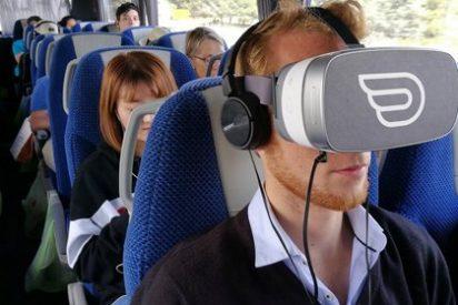 """Experimenta la """"realidad virtual"""" durante un viaje en Autocar"""