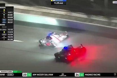 Esta brutal frenada de Fernando Alonso bajo la lluvia revienta las redes sociales