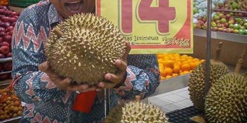 ¿Sabías que esta pieza de fruta se vende por mil dólares en Indonesia?