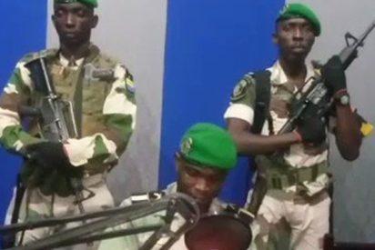 Militares de Gabón ocupan la emisora de la radio nacional en un aparente golpe de Estado