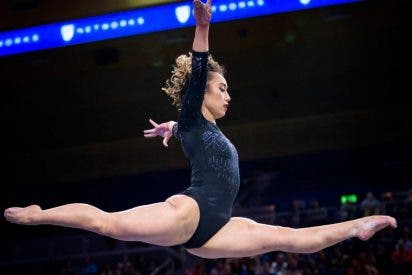 Cuando un 10 no es suficiente para calificar la perfección del ejercicio de una gimnasta