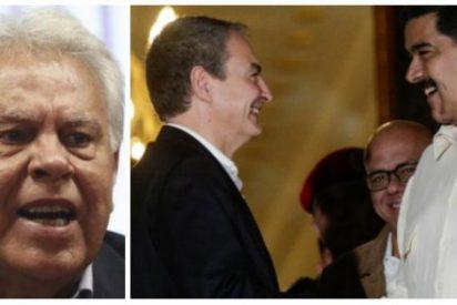 """Felipe González deja caer como fruta madura al prochavista Zapatero: """"No hay nada que negociar con Maduro"""""""