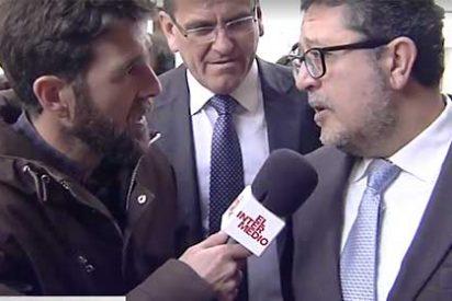 """Caretas fuera: en laSexta jalean entusiasmados el encontronazo de Gonzo con Francisco Serrano: """"Lo puso contra las cuerdas"""""""