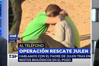 El padre de Julen llama a Antena3 para avisar a Griso de que tomará medidas legales contra ellos por insinuar que el niño no estuviera en el pozo
