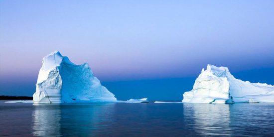 Groenlandia pierde en un solo día 11.000 millones de toneladas de hielo