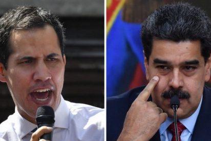 """Juan Guaidó reclama """"más sanciones"""" de la Unión Europea contra la dictadura de Maduro"""
