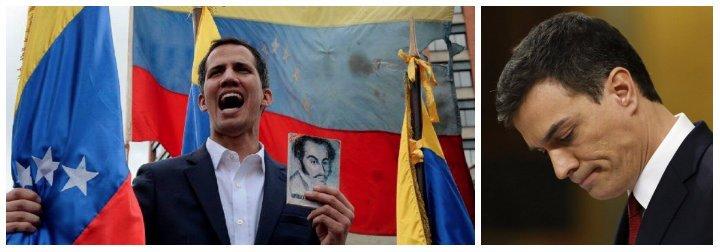 ¡Qué vergüenza, Sánchez! Venezuela clamando por la libertad y tu gabinete opta por la táctica del avestruz