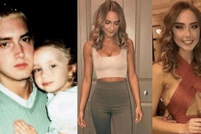 Las sensuales fotos de la hija de Eminem