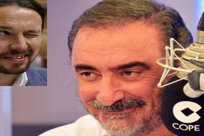 Carlos Herrera sacude un zasca tremebundo a Pablo Iglesias por pavonearse como 'gran follador'