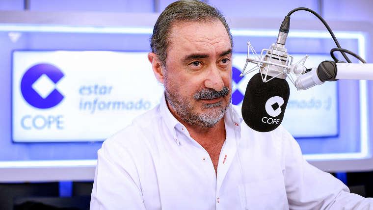 """Herrera y sus tertulianos responden a Monedero: """"Ni una diarrea produce tantos estragos"""""""