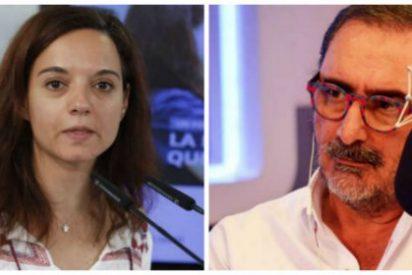 """Carlos Herrera se pitorrea de la alcaldesa socialista de Getafe por los bautizos civiles: """"Es una perfecta gilipollez"""""""