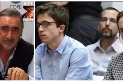 Carlos Herrera deja temblando a Pablo Iglesias con el destino político elegido por Errejón