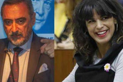 Espectacular cabreo de Herrera con las inaceptables palabras de Teresa Rodríguez haciéndose la