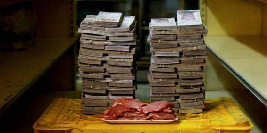 La Venezuela chavista cerró el 2018 con una inflación de casi 1.700.000 %