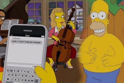 Homer Simpson manda el famoso meme de arbustos que él mismo protagoniza y la Red explota