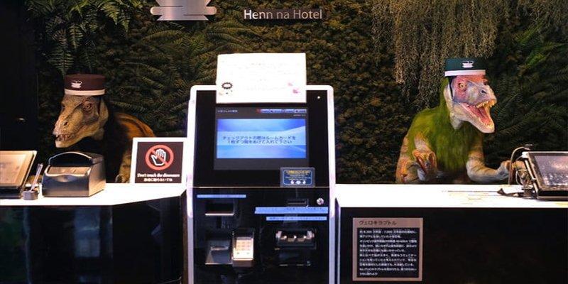 ¿Sabes por qué este curioso hotel japonés despidió a la mitad de su personal de robots?