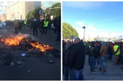 Periodista Digital en el infierno de Ifema: las dantescas imágenes que deja la huelga de taxistas en la inauguración de Fitur