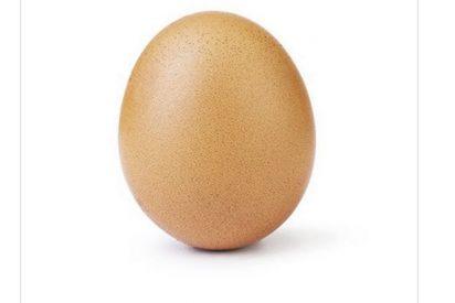 Esta foto de un huevo de gallina se convierte en la más popular de Instagram en toda la historia