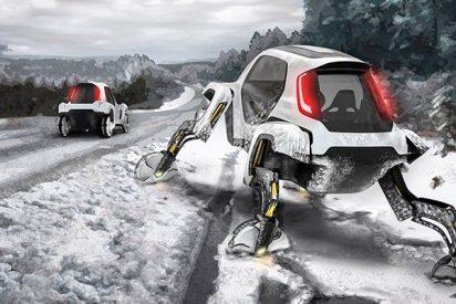 El coche de rescate del futuro se llama Hyundai Elevate Concept ¡Sortea todos los obstáculos!
