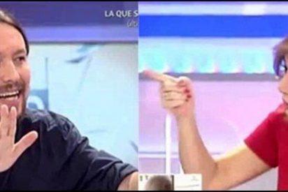 Ana Rosa Quintana se mofa de la baja paternal de Pablo Iglesias y estalla Podemos