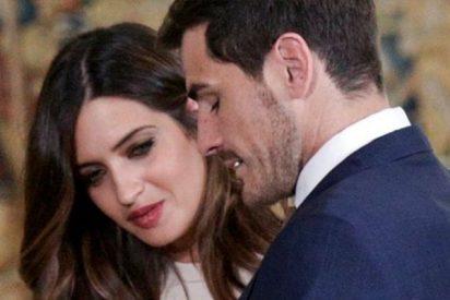 ¡Esa manita Iker!:La foto de Iker Casillas y Sara Carbonero que ha escandalizado a muchos
