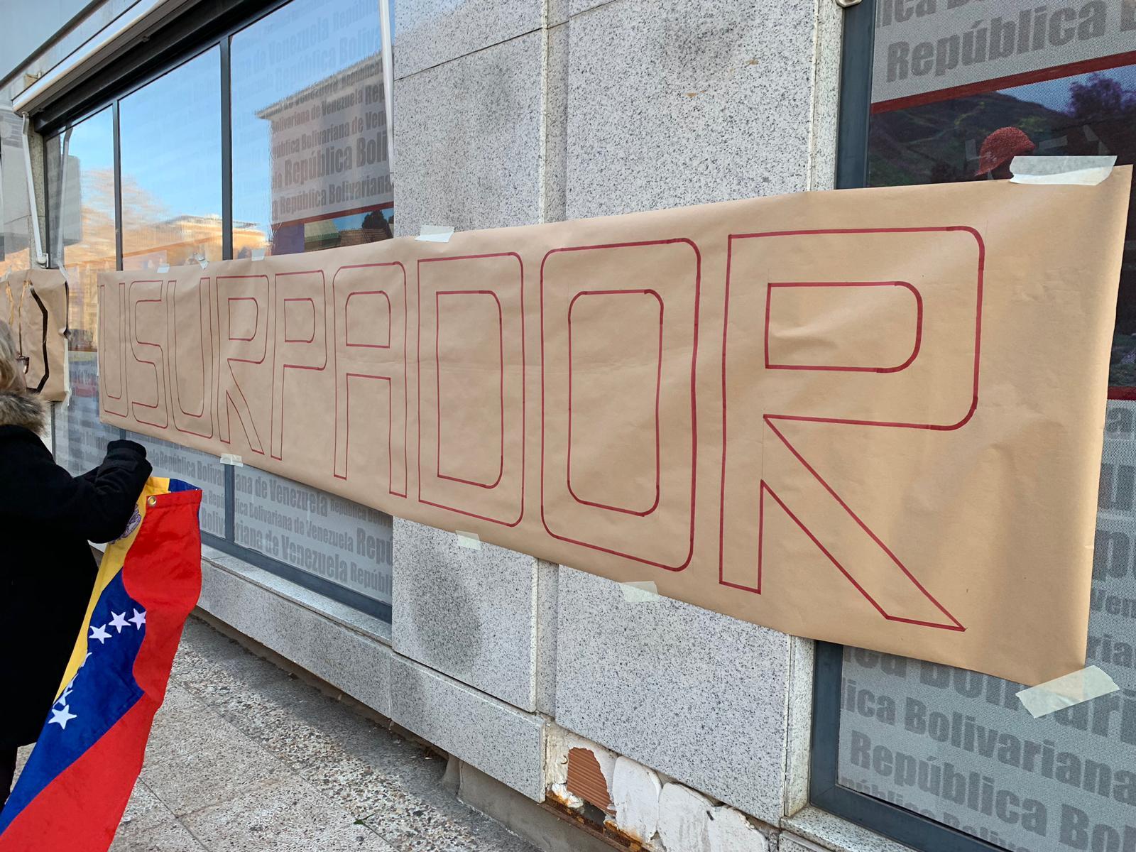 Fotos: Así protesta la diáspora venezolana en las embajadas en el extranjero