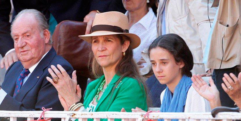 El pánico de la infanta Elena a que su hija Victoria Federica sea víctima de la maldición de los Borbones