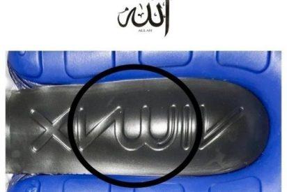 La suela de unas zapatillas enciende la ira de miles de musulmanes