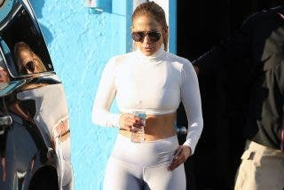 Las mejores fotos de Jennifer López sin ropa interior