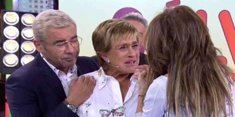 """'Sálvame': Chelo García Cortés revienta y se pone a gritar """"¡Soy bisexual! ¿Y qué pasa?"""""""