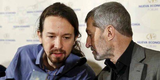Pablo Iglesias se caga: Podemos renuncia a entrar en la lista de Carmena y a presentarse en Madrid