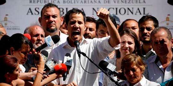 Así detiene la dictadura chavista a Juán Guaidó, presidente del parlamento venezolano
