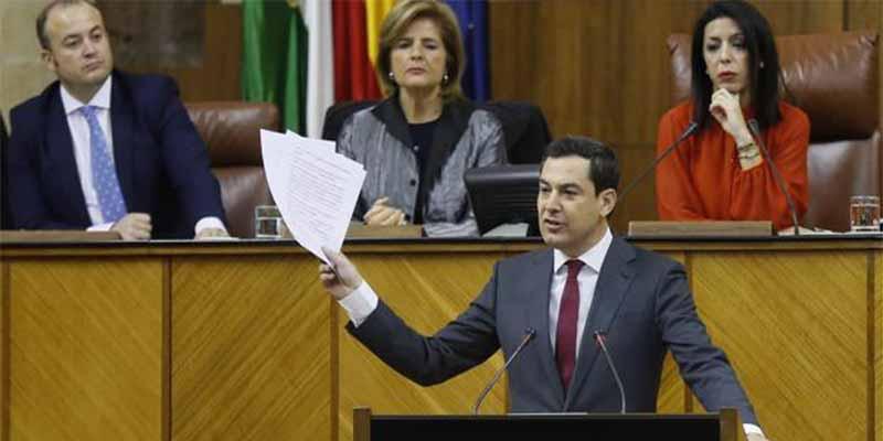 """Juanma Moreno a los de Podemos: """"Yo no me puedo comprar una casa de 600.000 euros como la de Pablo Iglesias"""""""
