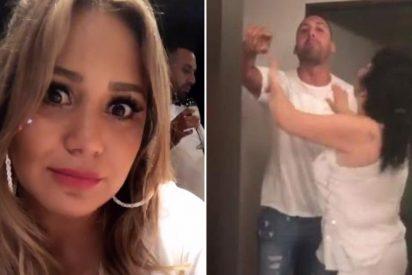 La cantante argentina Karina La Princesita, víctima de violencia familiar