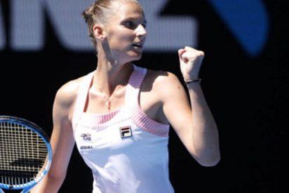 La checa Karolina Plisková vence a Serena Williams en el Abierto de Australia