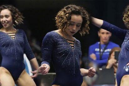 """Un doble campeón olímpico resta importancia a la rutina de la gimnasta que obtuvo un """"10"""" y emocionó a todos"""