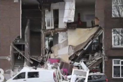 Una gran explosión colapsa varios edificios en La Haya