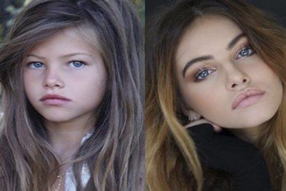 La 'niña más guapa del mundo' se une al #10yearchallenge y muestra cómo ha cambiado en 10 años