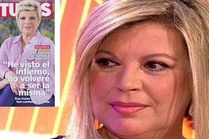 """Terelu Campos vuelve del infierno: """"Me ha costado mirarme porque era una monstruosidad"""""""